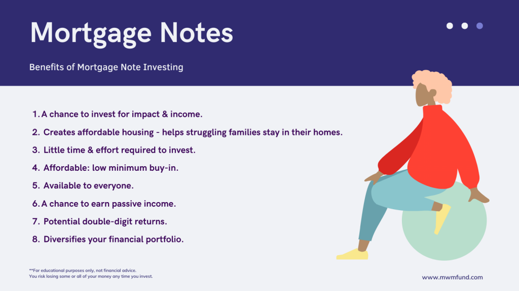 benefits of mortgage note investing