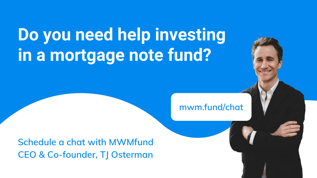 do you need help investing in a mortgage note fund?