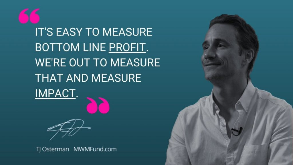 Mortgage notes: Profit and purpose with TJ Osterman, MWMfund Co-founder